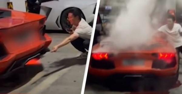 """Shikoni se si ky person """"pjek"""" një Lamborghini $400,000 në vend të mishit"""