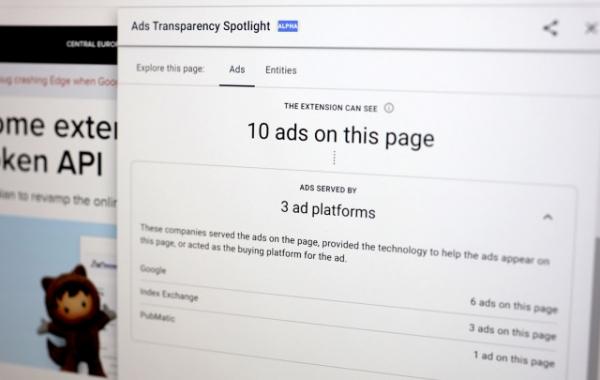Ky extension në Google Chrome tregon si po të gjurmojnë kompanitë e reklamave