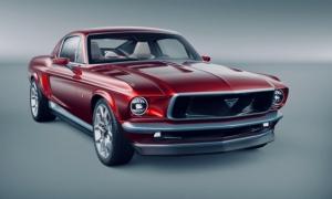 Një kompani Ruse përdori një Tesla Model S dhe një Ford Mustang për të krijuar këtë mjet