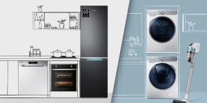 Samsung shpërblen klientët: 5 vjet garanci për frigoriferët dhe makinat larëse!