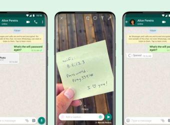 Si të dërgoni fotografi dhe video që zhduken në WhatsApp